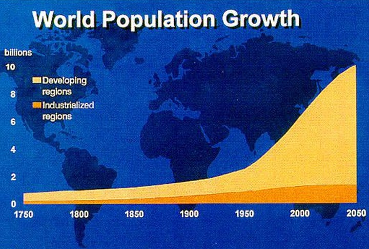 can earth sustain life based on todays population growth after 20 years Population growth affects economic development and, in its turn, economic development affects population growth the last two centuries have witnessed a fall in the death rate and the consequent growth of population in today's economically advanced countries.